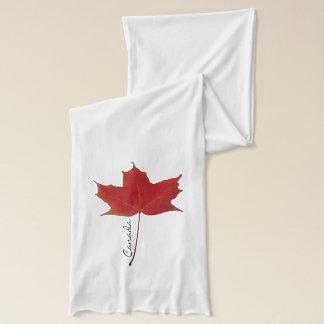Bufanda Hoja de arce canadiense roja
