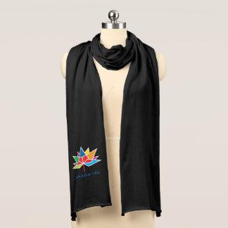 Bufanda Logotipo del funcionario de Canadá 150 -