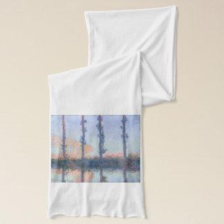 Bufanda Los cuatro árboles de Claude Monet