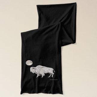 Bufanda Luna Llena del búfalo blanco