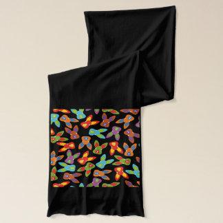 Bufanda Modelo psico de Pascua colorido
