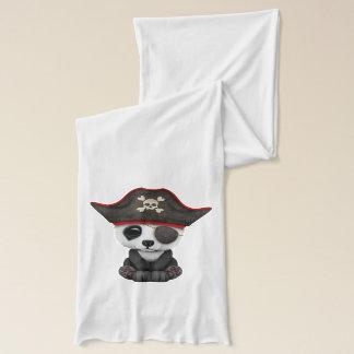 Bufanda Pirata lindo de la panda del bebé