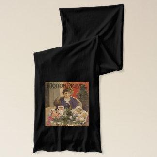 Bufanda Revista del árbol de la escena del navidad de Mary