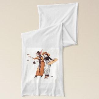 Bufanda Tono de la tierra de la moda de las señoras del