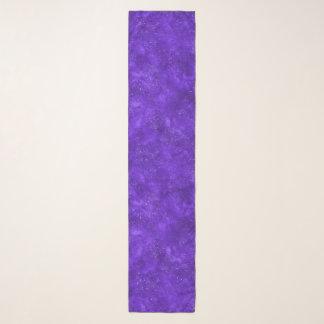Bufanda violeta de la gasa de la galaxia