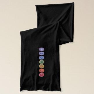 Bufandas originales del arte del namaste de