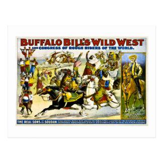 Buffalo Bill 1899 - Jinetes árabes Postal