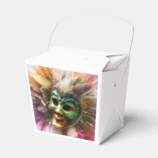 Bufón colorido caja para regalos