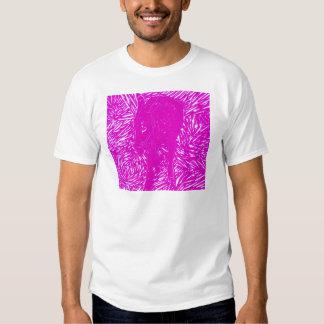 Buford rosado fluorescente camisetas