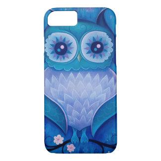 búho azul funda iPhone 7
