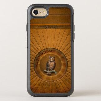 Búho - consiga la sabiduría funda OtterBox symmetry para iPhone 7