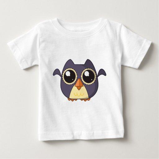 Búho Cutie Camiseta Para Bebé