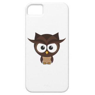 Búho de Brown iPhone 5 Case-Mate Protectores