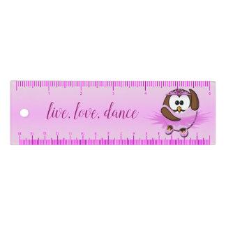 búho de la bailarina - regla