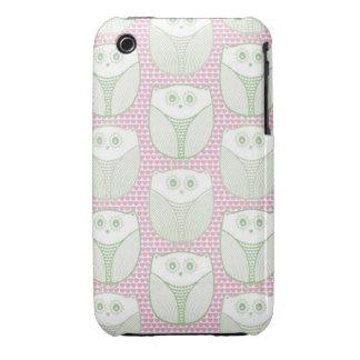 """""""Búho del corazón de Lil """" Case-Mate iPhone 3 Protectores"""