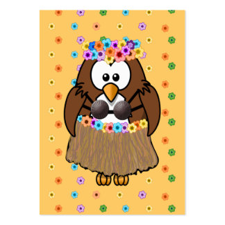 búho del wahine tarjeta de visita