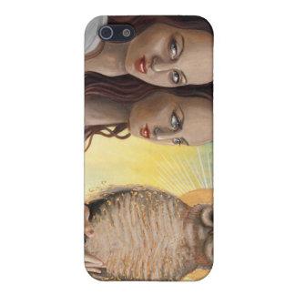 búho-diosa iPhone 5 carcasa