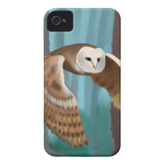 Búho en vuelo Case-Mate iPhone 4 protectores