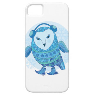 búho iPhone 5 Case-Mate protectores