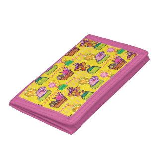 Búho y la cartera del minino para los niños