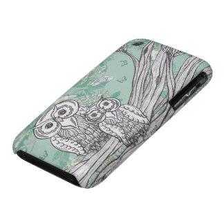 Búhos 39 iPhone 3 carcasas