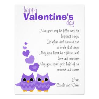 Búhos dulces del amor invitacion personal