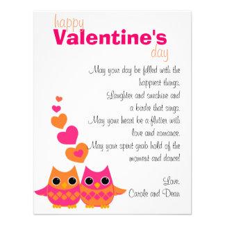 Búhos dulces del amor invitación