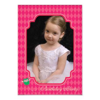 Búhos - la fiesta de cumpleaños de la foto invita invitación 12,7 x 17,8 cm