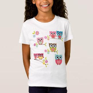 Búhos lindos camiseta