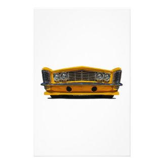 Buick amarillo papeleria de diseño