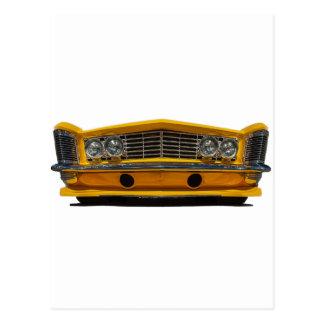 Buick amarillo postal
