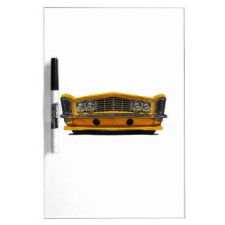 Buick amarillo tableros blancos