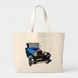 Buick con Su texto Bolsa De Tela Grande