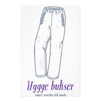 Bukser de Hygge: ¡Celebre los pantalones cómodos Papelería