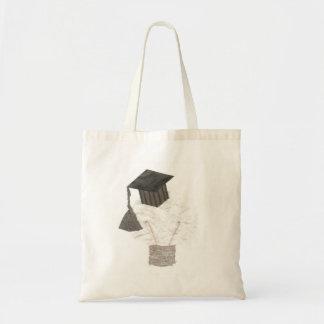 Bulbo del graduado ningún bolso del fondo