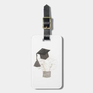 Bulbo del graduado ninguna etiqueta del equipaje