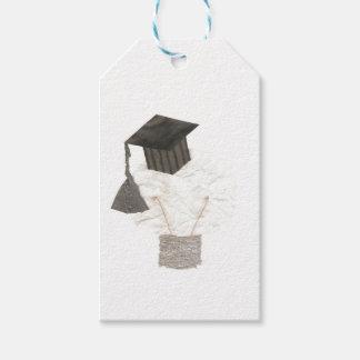 Bulbo del graduado ningunas etiquetas del regalo etiquetas para regalos