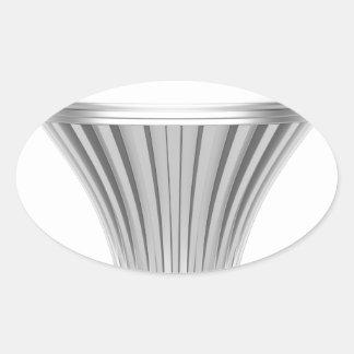 Bulbo del LED Pegatina Ovalada