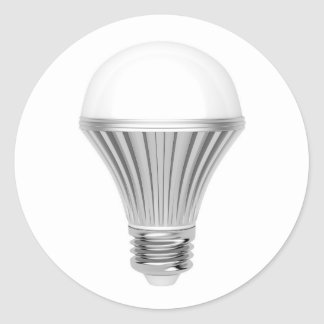 Bulbo del LED Pegatina Redonda