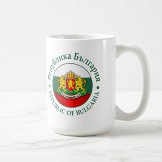 Bulgaria (rd) taza básica blanca