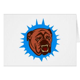 Bulldog bulldog tarjetas