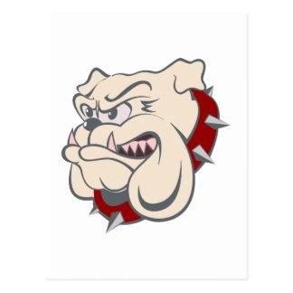 Bulldog bulldog tarjeta postal