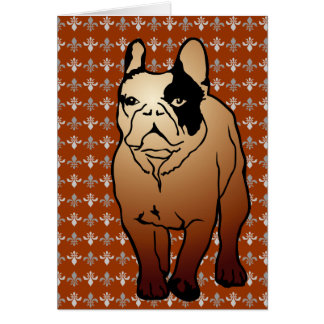 Bulldog Cards Tarjeta