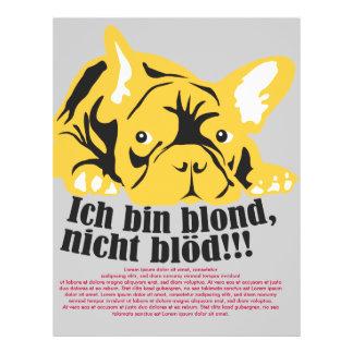 Bulldog francés: Rubio! Folleto 21,6 X 28 Cm