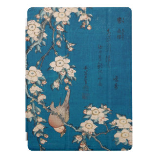 Bullfinch de Hokusai y arte de GalleryHD de la Cubierta Para iPad Pro