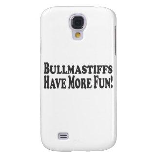 ¡Bullmastiffs se divierte más! Añada su propia fot Funda Para Samsung Galaxy S4