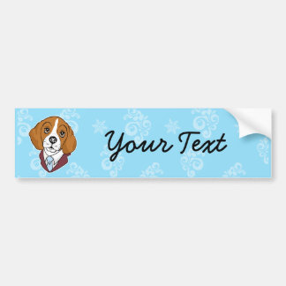 Bumpersticker del beagle pegatina para coche