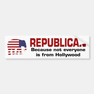 Bumpersticker republicano divertido pegatina para coche