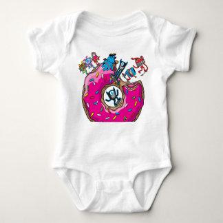 Buñuelo del patín body para bebé