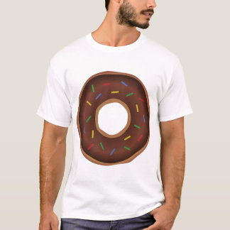 Buñuelo divertido de Brown del dibujo animado Camiseta